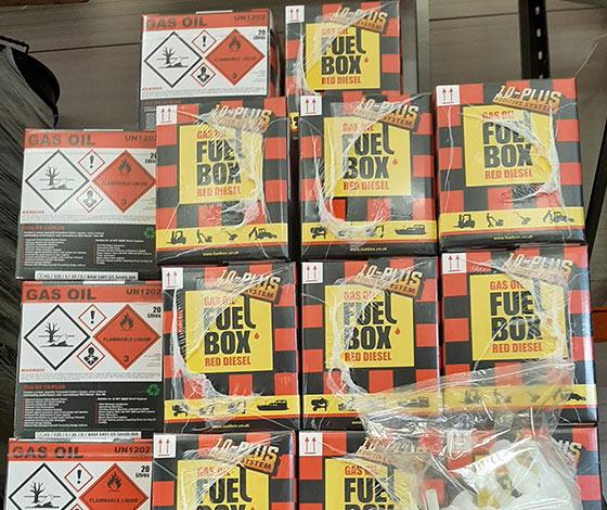 Red Diesel FuelBox